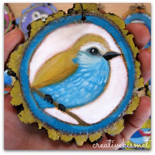 bird ornament by Regina Lord