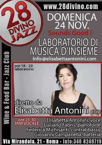 WORKSHOP MUSICA DI INSIEME con Elisabetta Antonini by cristiana.piraino