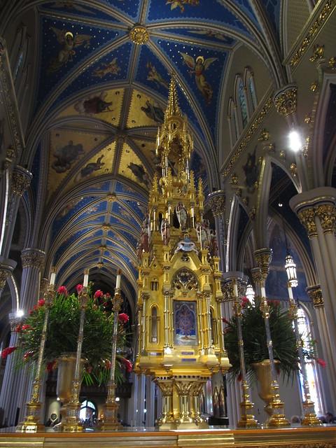 Catholic World News >> Basilica of the Sacred Heart, University of Notre Dame ...