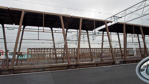 ユーロトンネル シャトル 危険物貨物トラック用特別車両