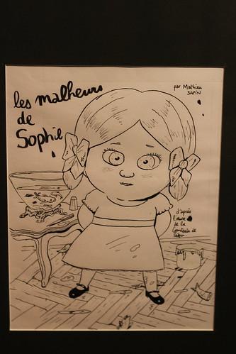 Galerie des héros - Salon du Livre et de la Presse Jeunesse de Montreuil 2013