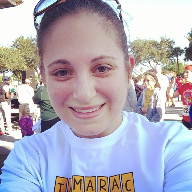Me right after finishing! #5k #running #tamarac #turkeytrot #thanksgiving