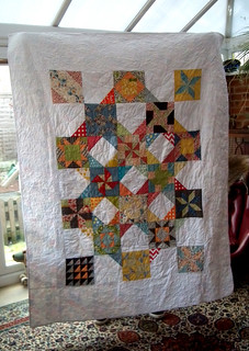 Punctuation quilt for Pascale
