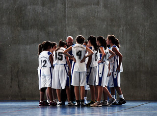 Basketball team. - Mateo Hernández -
