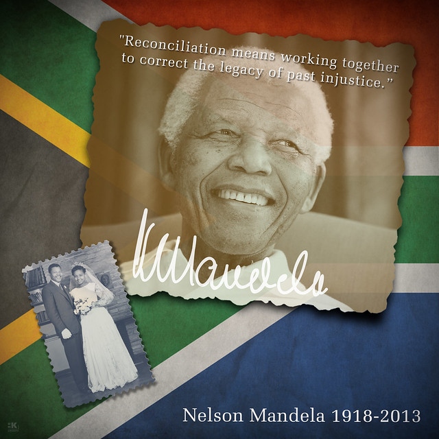 Nelson Mandela 1918-2013 from Flickr via Wylio