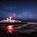 Nubble Night Pano by moe chen