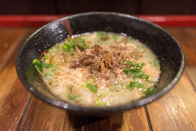 一神堂 塩白湯麺