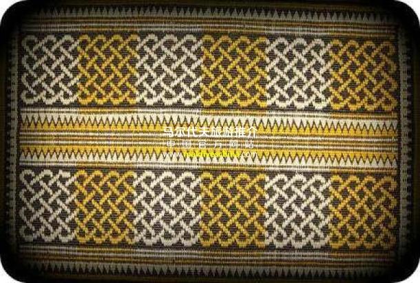 """被称为""""thundu kunaa""""的精美垫子"""