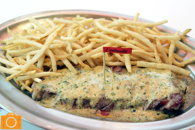 L'entrecote Steak-Frites
