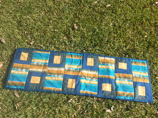 sandy table runner