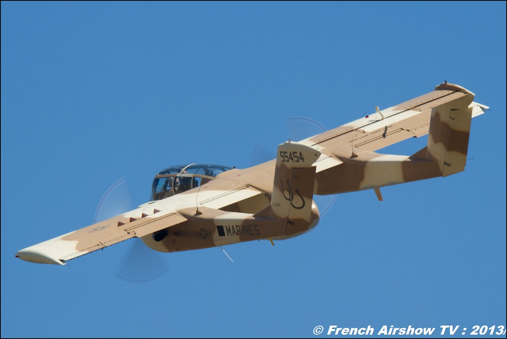 OV-10 bronco montelimar au Free Flight World Masters Valence 2013, Meeting aerien 2013