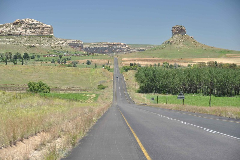 West from Clarens