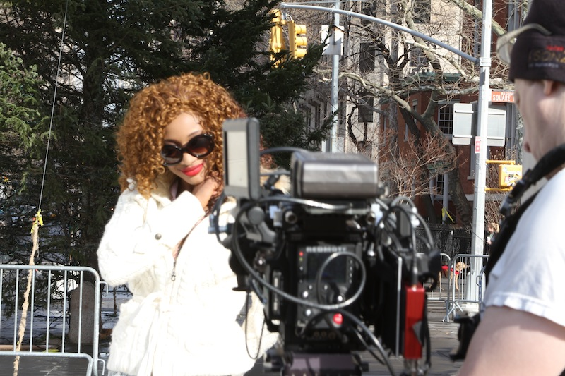 Singer Sala wraps up video shoot in USA‏