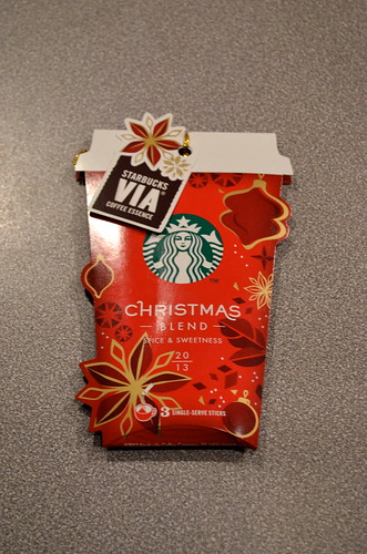 Starbucks X-mas 2013 Japan edition.