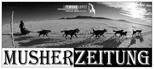 Femundlopet-Emil-Inauen, Foto: Helmut Dietz, Musherzeitung, Bielefeld