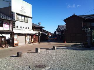 関宿・地蔵院前から