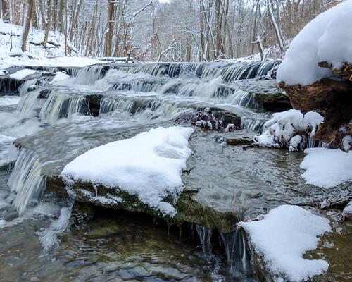 bridge winter ohio snow skyline night river cincinnati ohioriver eastforkstatepark eastfork