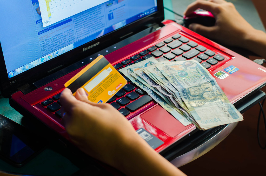 Philippine credit or debit card payment and money