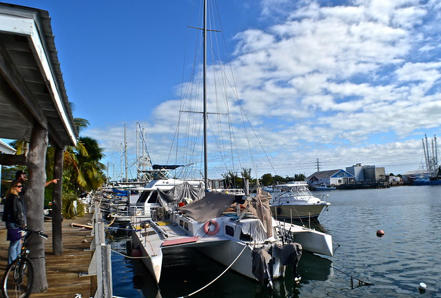 Stock Island marina village, Key West, Florida - bay of pigs