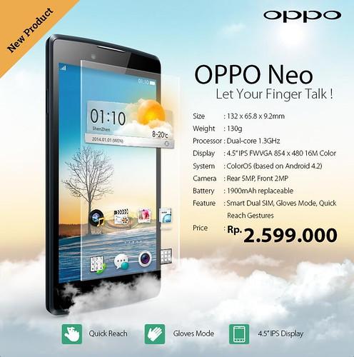 Смартфон Oppo Neo
