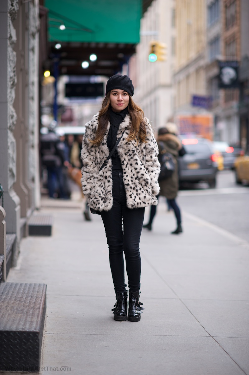 womens leopard coat