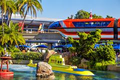 Monorail & Sub - Disneyland