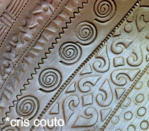 Prato Terracota com textura by cris couto 73
