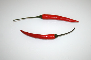 03 - Zutat Chilis / Ingredient chilis