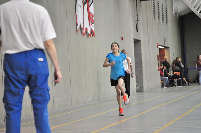 Sierra finishing 150m