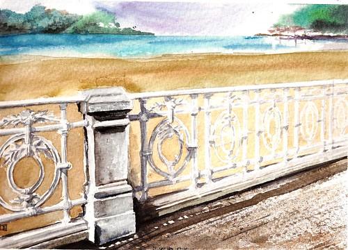 14-02-28 San Sebastian Donosti Playa de la Concha by jeguibo