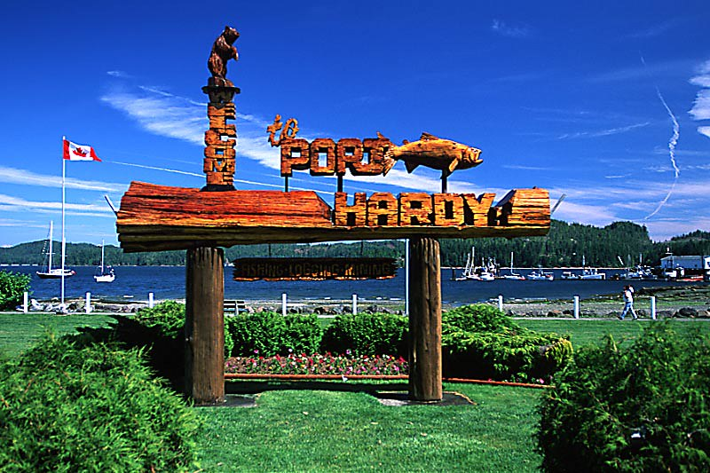 Port Hardy, North Vancouver Island, British Columbia, Canada