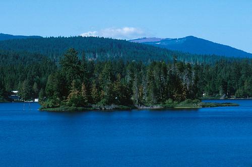 Memory Island Park, Shawnigan Lake, Vancouver Island, British Columbia, Canada