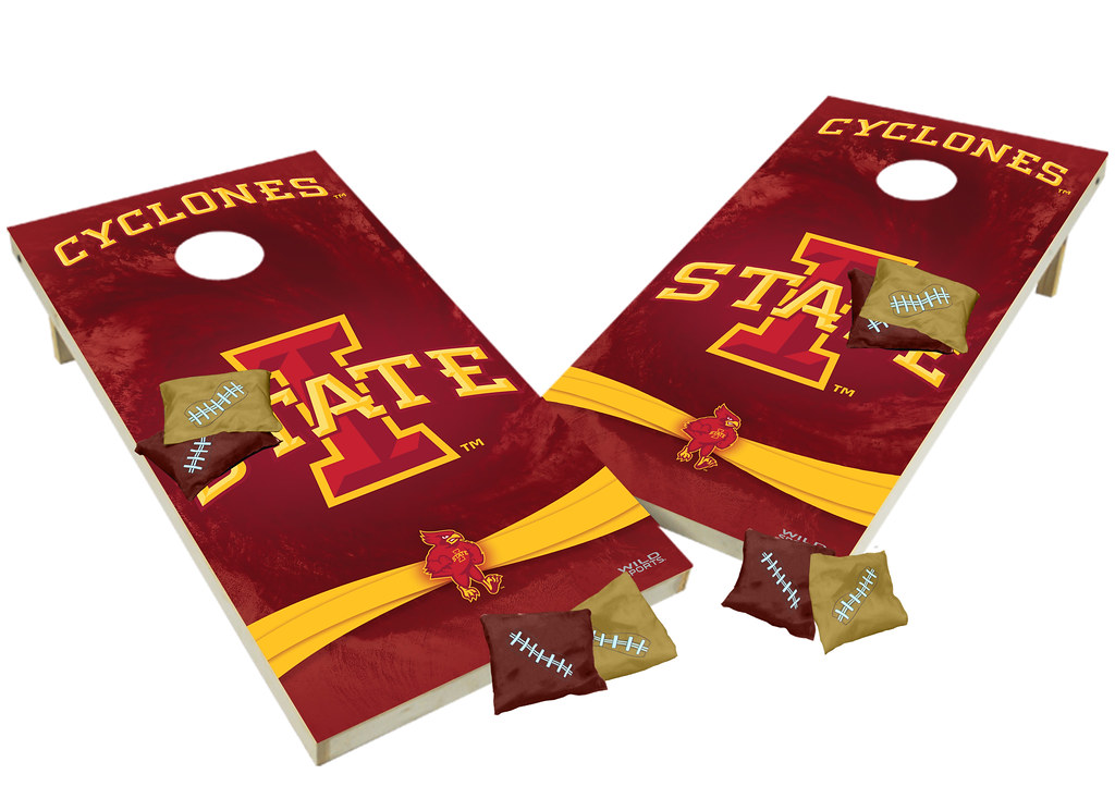 Iowa State Cyclones Custom Cornhole Boards XL