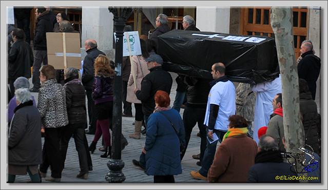 3 Manifestación contra recortes Sanidad Rural