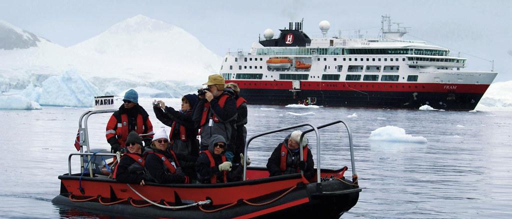 Hurtigruten expediton vessel, Fram