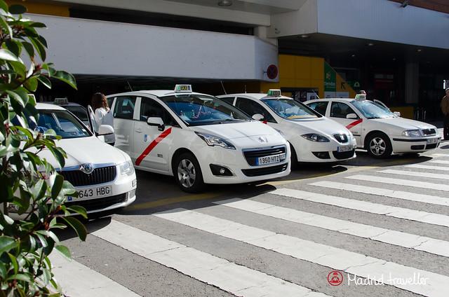 táxis de Madri