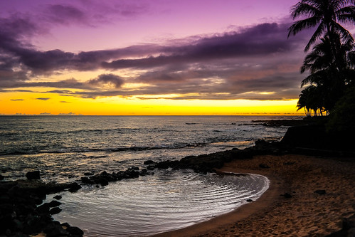 ocean sunset sky orange beach water clouds hawaii sand purple samsung sunsets tranquility romance palmtrees pacificocean pools serenity kauai poipu romantic ripples drama tranquil nx300 imagelogger ditchthedslr