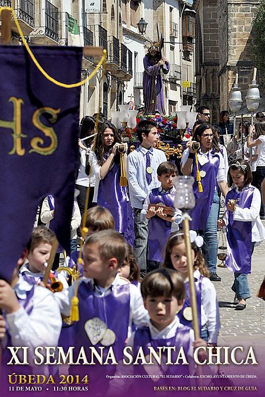 Cartel procesiones infantiles