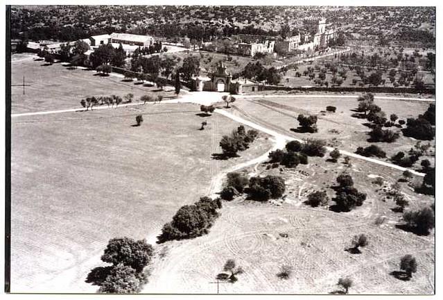 Vista aérea del Palacio de la Sisla en 1972 (c) Archivo Municipal 03 - FD-05-51-Año 1972