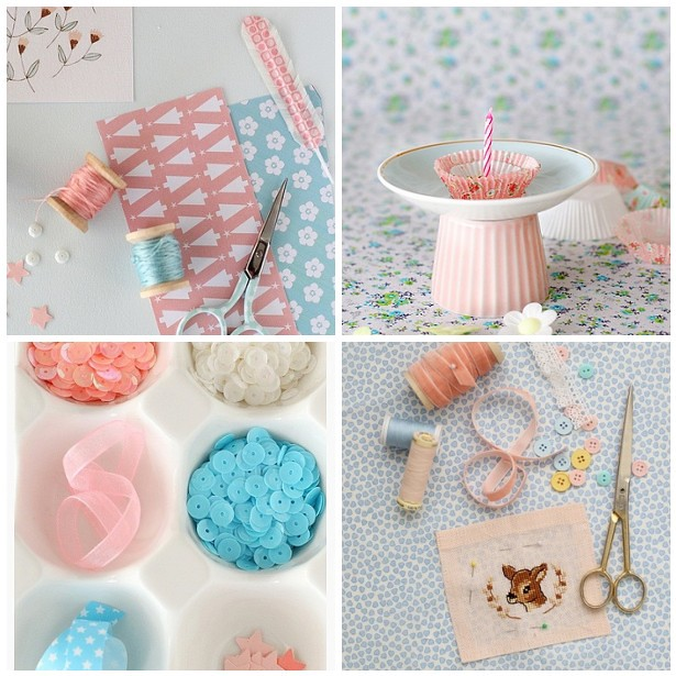Pretty Pastels by Cafe noHut