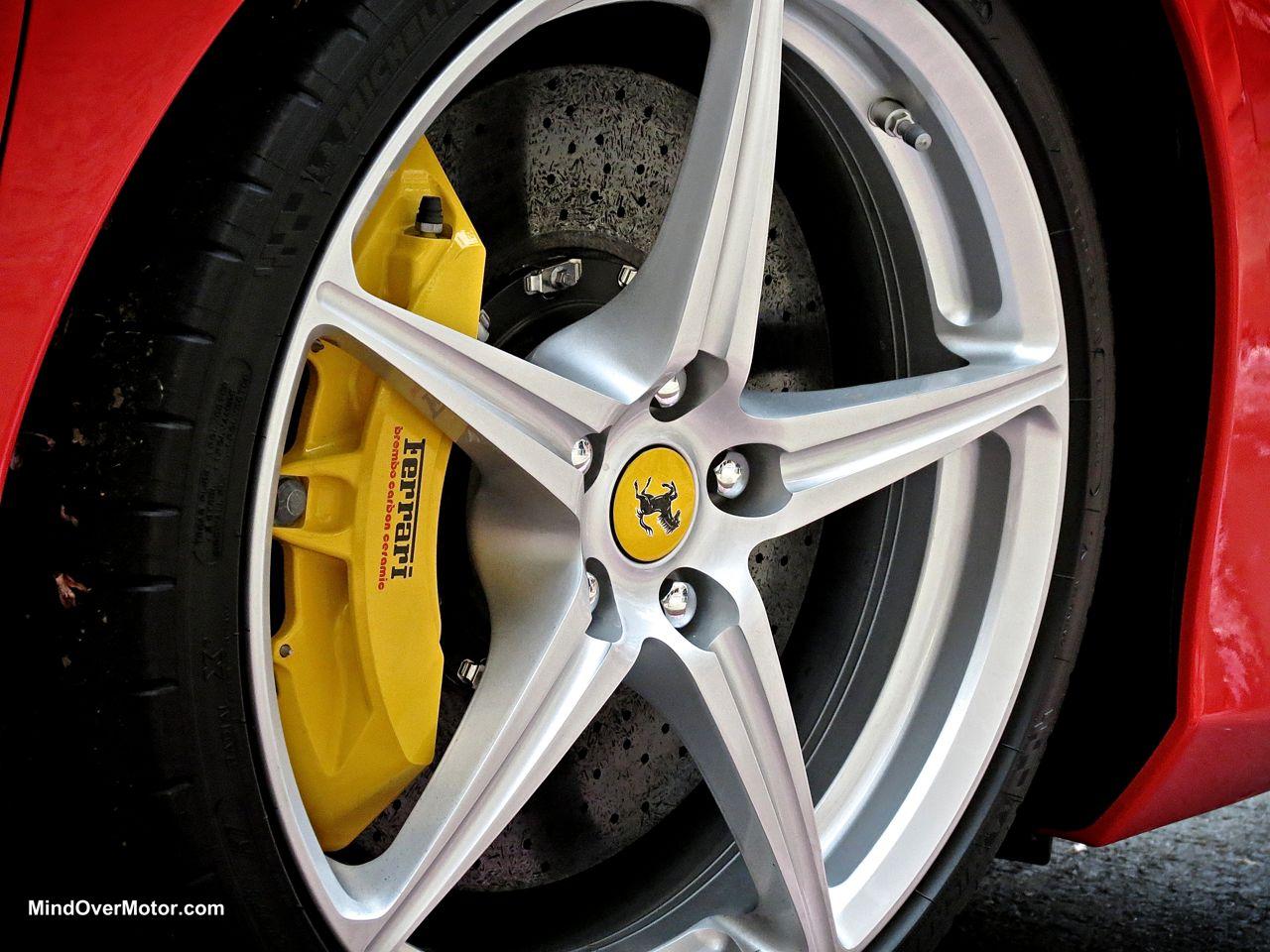 Ferrari 458 Spider Wheels
