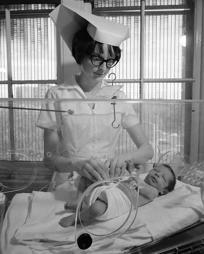 St. Andrew's Hospital, East Melbourne. Nursery