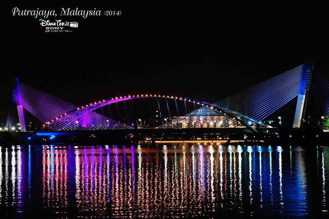 Putrajaya - Seri Saujana Bridge