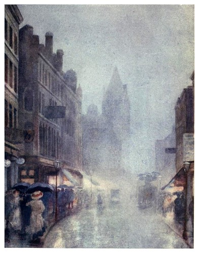 006-Calle Fulham-A Japanese artist in London (1910)- Yoshio Markino