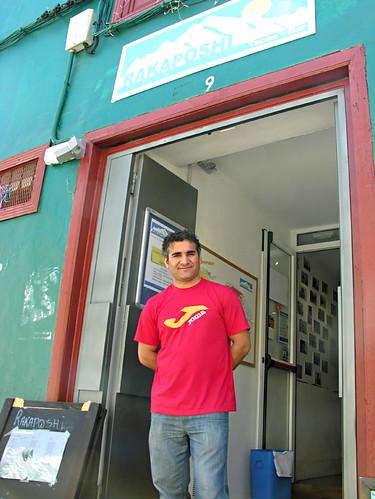 Ali Madad, Rakaposhi Tapas Bar, La Laguna