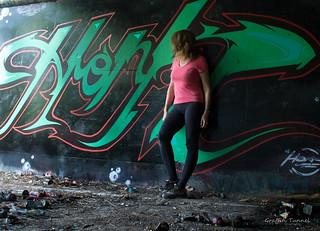 Brisbane Urbex Graffiti