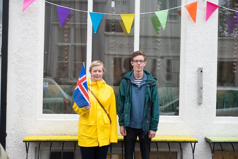 national day in reykjavík.
