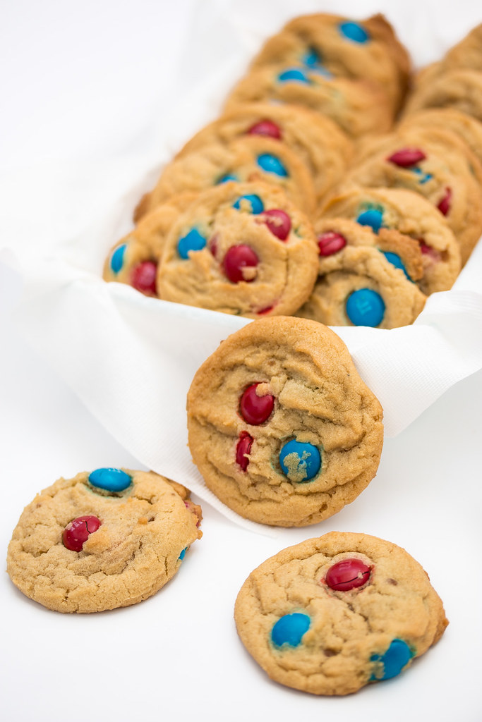 M&M Pudding Cookies