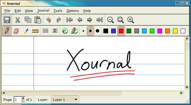 Xournal — рукописное аннотирование PDF в Linux. Фото 1.