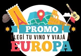 Promo: Elegí tu vino y viajá a Europa